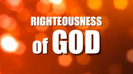3- Righteousness