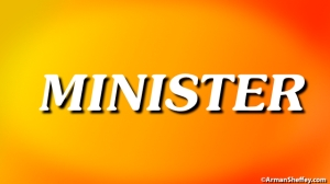 I am...a Minister