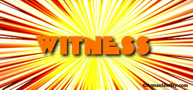 I am...a Witness