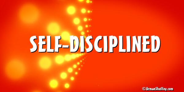 I am...Self-Discipline