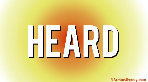 I am...Heard